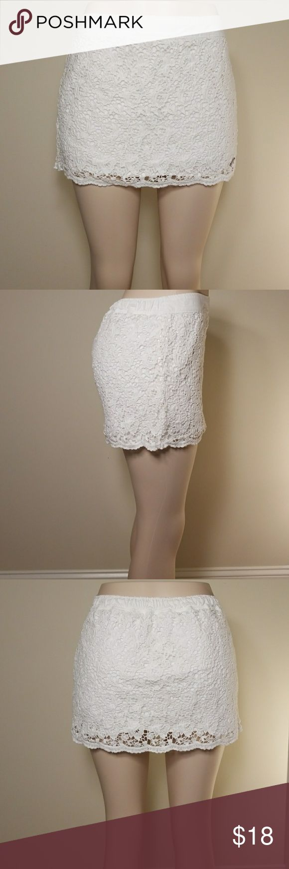 Abercrombie & Fitch lace mini skirt Very cute mini skirt 100% cotton Abercrombie & Fitch Skirts Mini