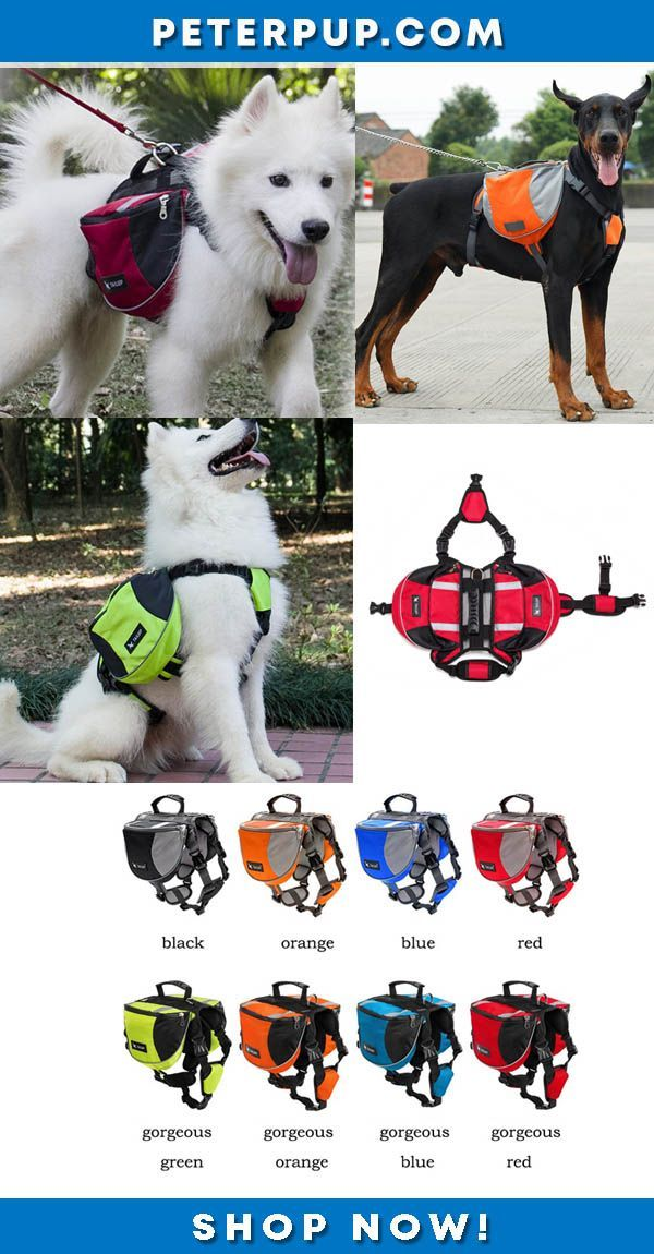 Breathable Adjustable Outdoor Adventure Travel Dog Backpack Vest