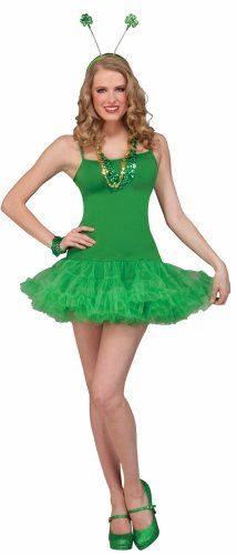 St. Patrick's Day Costume, Green, One Size