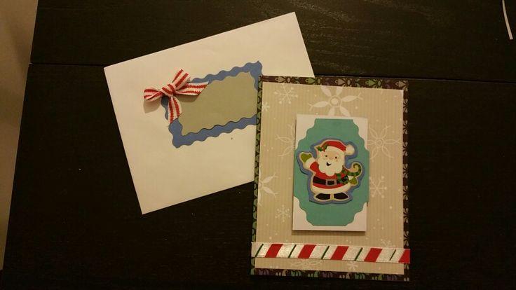 Holiday card 2015 - smiley santa portrait