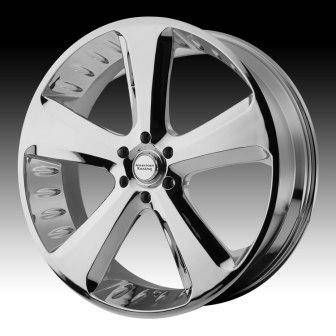 20″ AMERICAN RACING CHROME CIRCUIT WHEELS RIMS ** PRISTINE CONDITION
