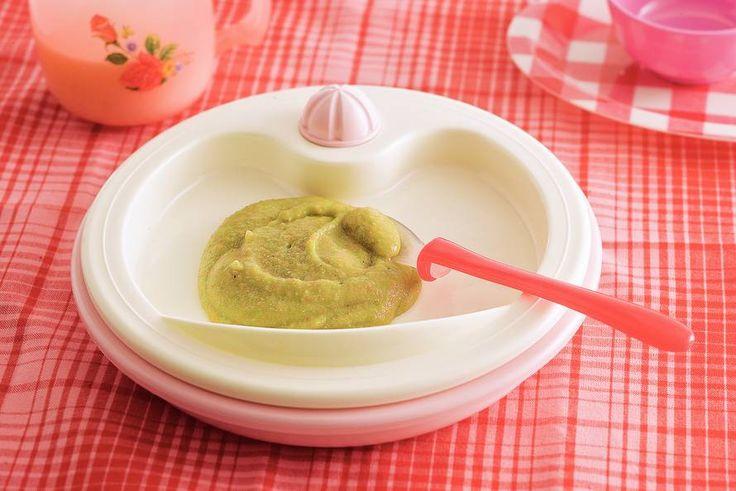 Kijk wat een lekker recept ik heb gevonden op Allerhande! Groentestamppotje met gehakt (baby 6-8 maanden)