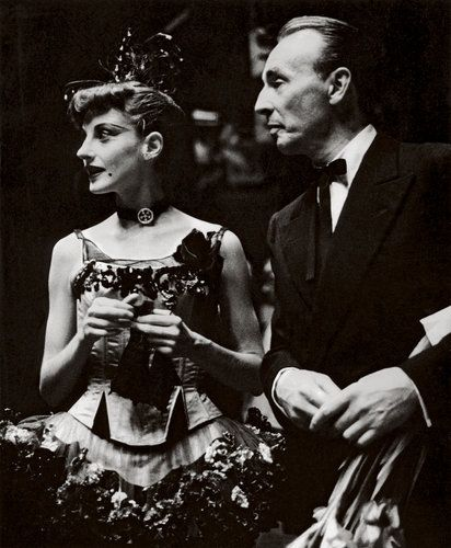 The dancer Tanaquil Le Clercq and her husband, George Balanchine, in 1955.