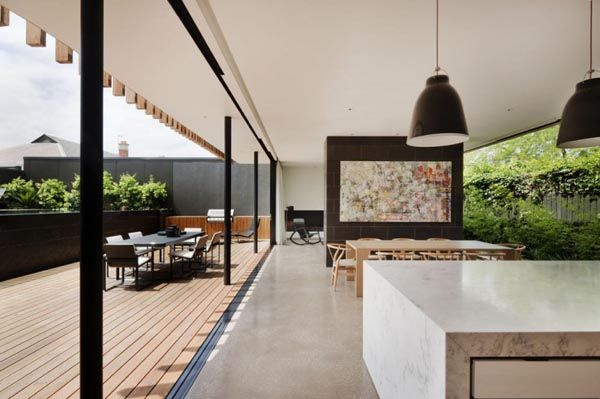 CONTEMPORARY DESIGN: Dining Rooms, Kooyong House, Design Bedroom, House Design, Gibson Architecture, Design Interiors, Home Interiors Design, Matte Gibson, Design Home
