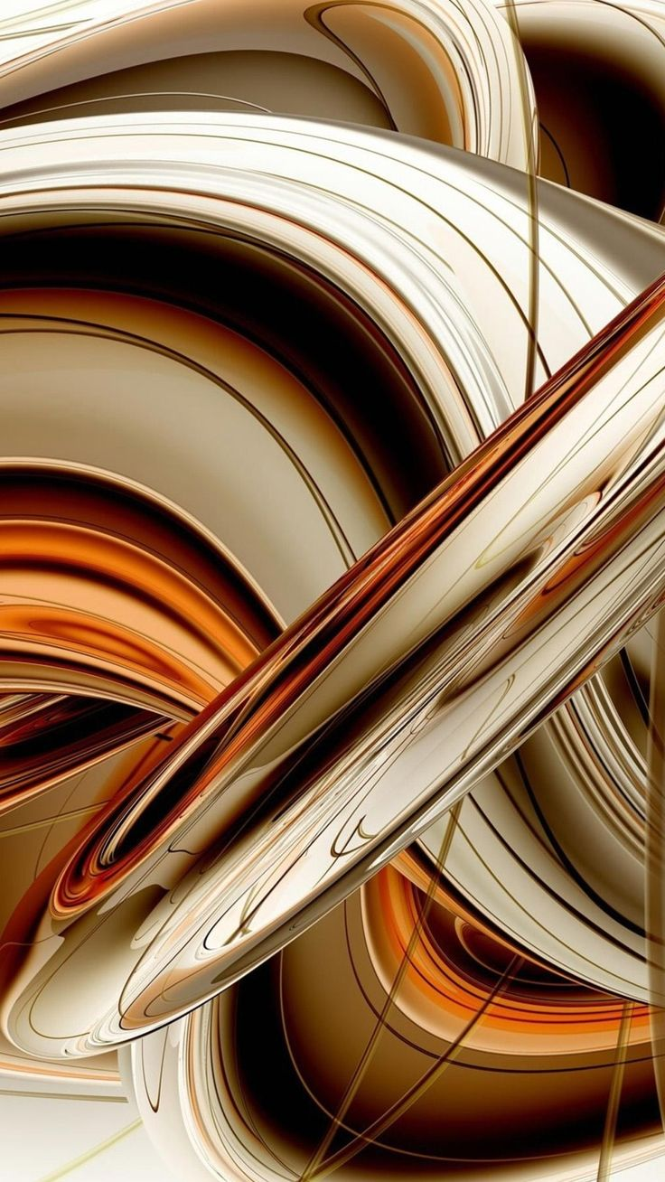Abstract 3d and gold on pinterest for 3d brown wallpaper