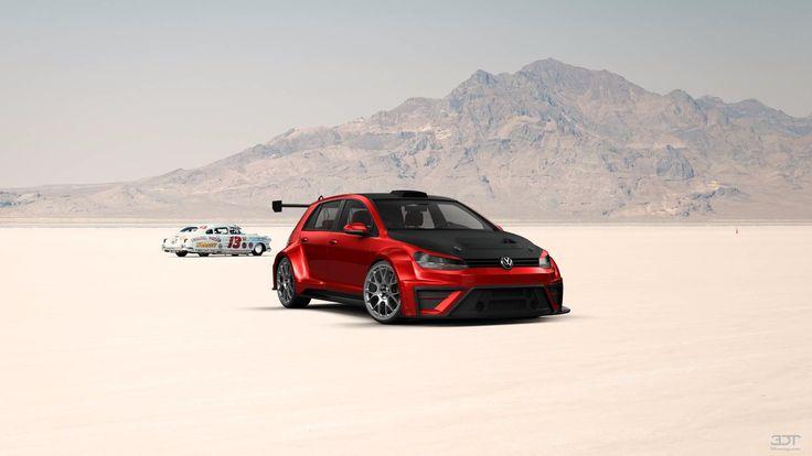 Volkswagen Golf7 2014 at 3DTuning
