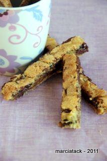 Cookies en bâtonnets - Recette - Marcia Tack