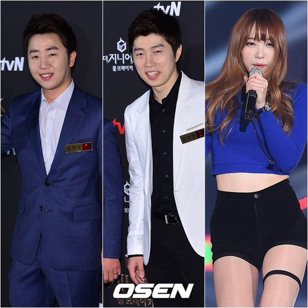 [151116] Running Man filming guests today - Hong Jin Ho, Lim Yo Hwan and EXID Hani