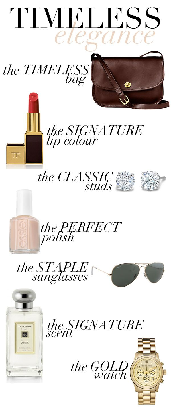 fashion friday: 7 chic necessities