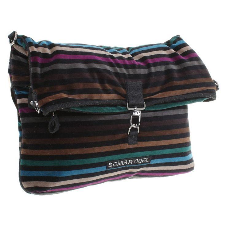 Sonia Rykiel Hand bag with stripes
