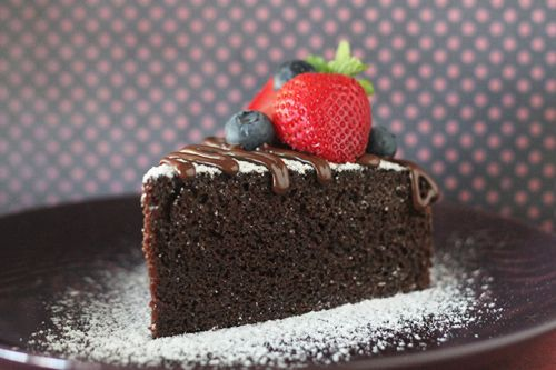 No Bake Chocolate Cake @Sara Mathews Malaysia ... this looks decadent and delicious! #chocolate