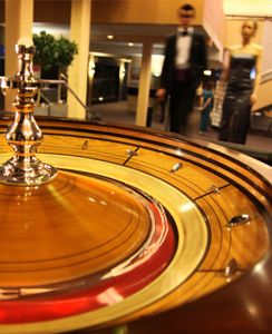 Monte Carlo / casino theme, would totally need a roulette table at the party!