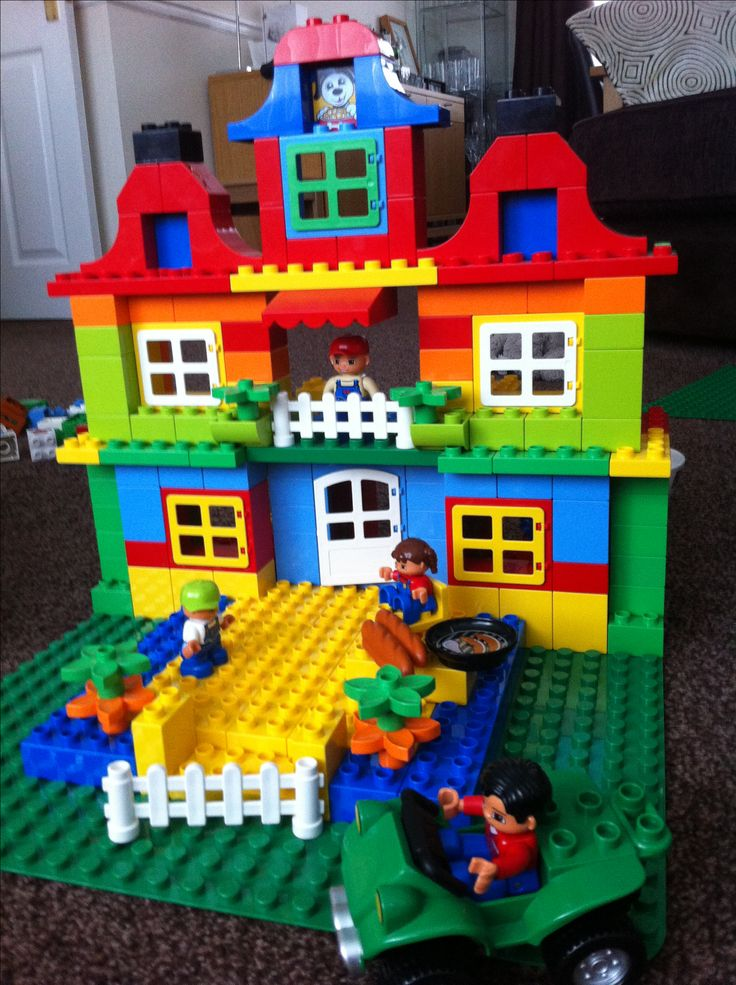 The Duplo Mansion
