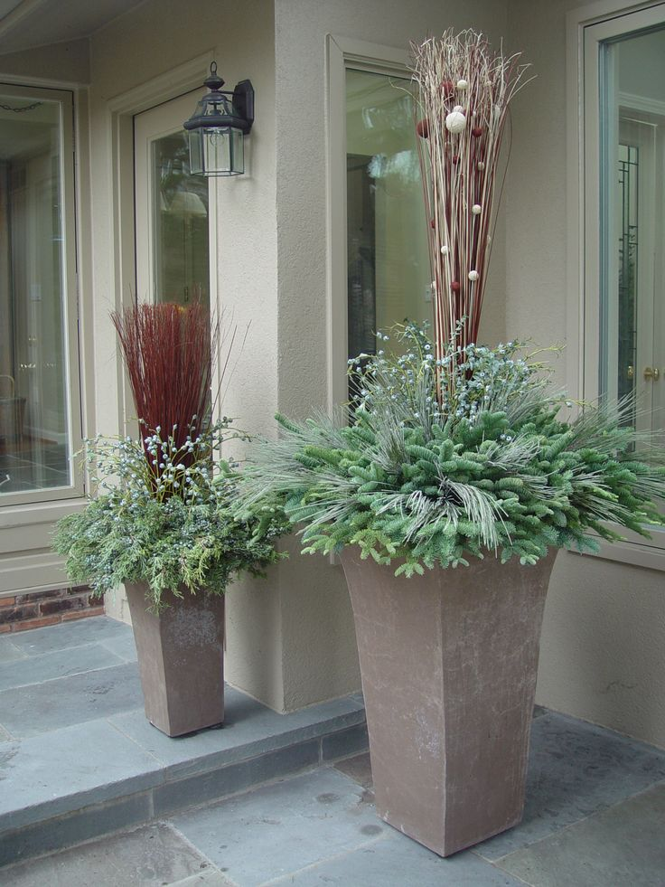 17 best images about winter containers on pinterest