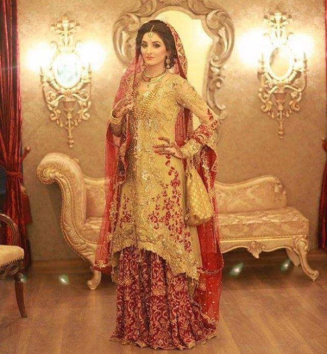 Fatima in #SairaRizwan #bridal #couture