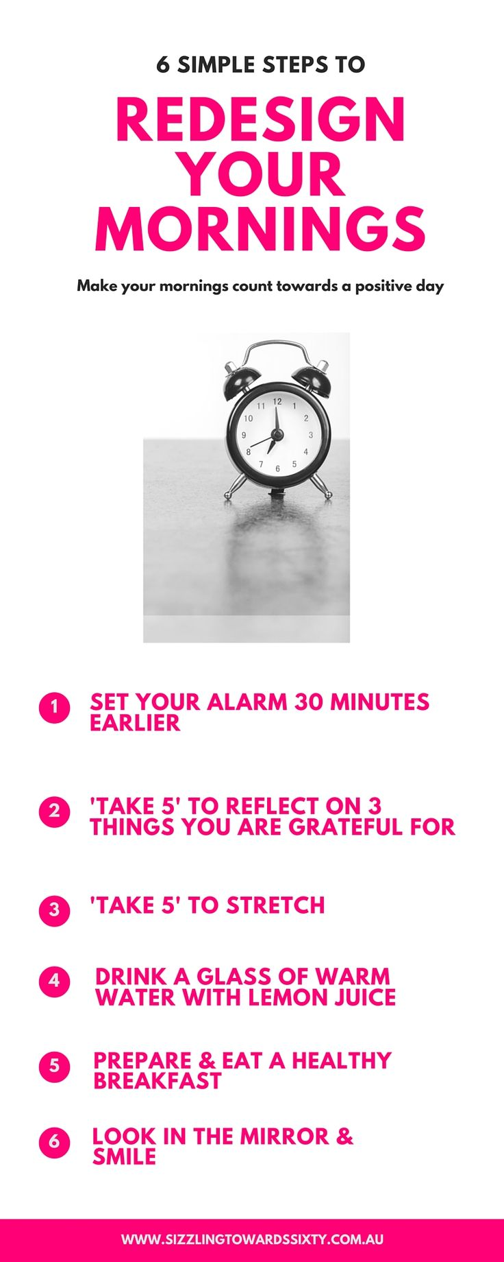 redesign your mornings