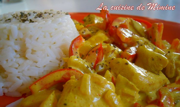 Poulet au curry et au lait de coco Paléo