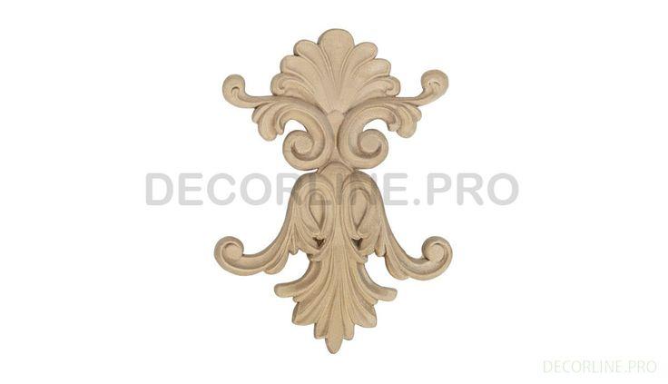 ОРНАМЕНТЫ из древесной пасты OR-47 Размер/Size: 162x120x15. Резной декор из древесной пасты, древесной пульпы, полимера, полиуретана, ППУ, МДФ, прессованный декор, декор из массива, декор из дерева