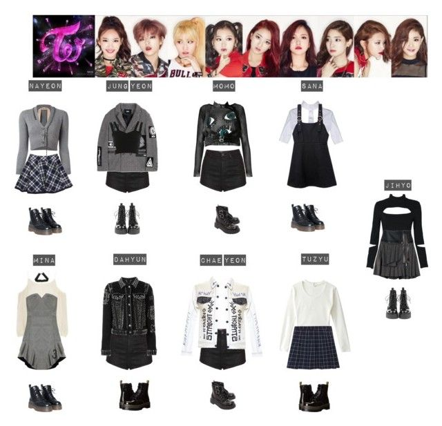 """TWICE - LIKE OOH AHH ❤"" by mabel-2310 on Polyvore featuring N°21, Topshop, Elizabeth and James, Kokon To Zai, Miss Selfridge, T.U.K., Sister Jane, Diesel, Pringle of Scotland and Filles à papa"