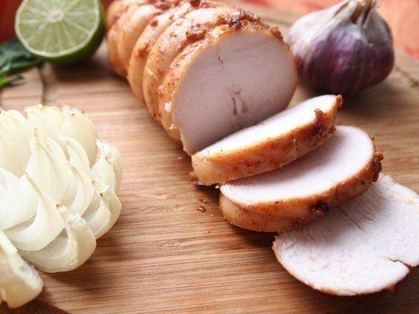 Фото к рецепту: Куриная пастрома