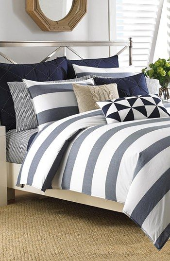 Like the stripes and possibility to pair with pink/orange/white/grey.