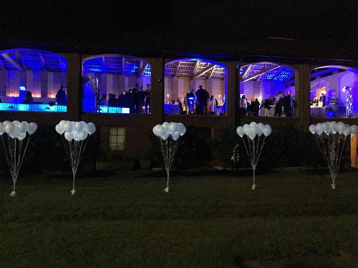 Matrimonio Palloncini luminosi