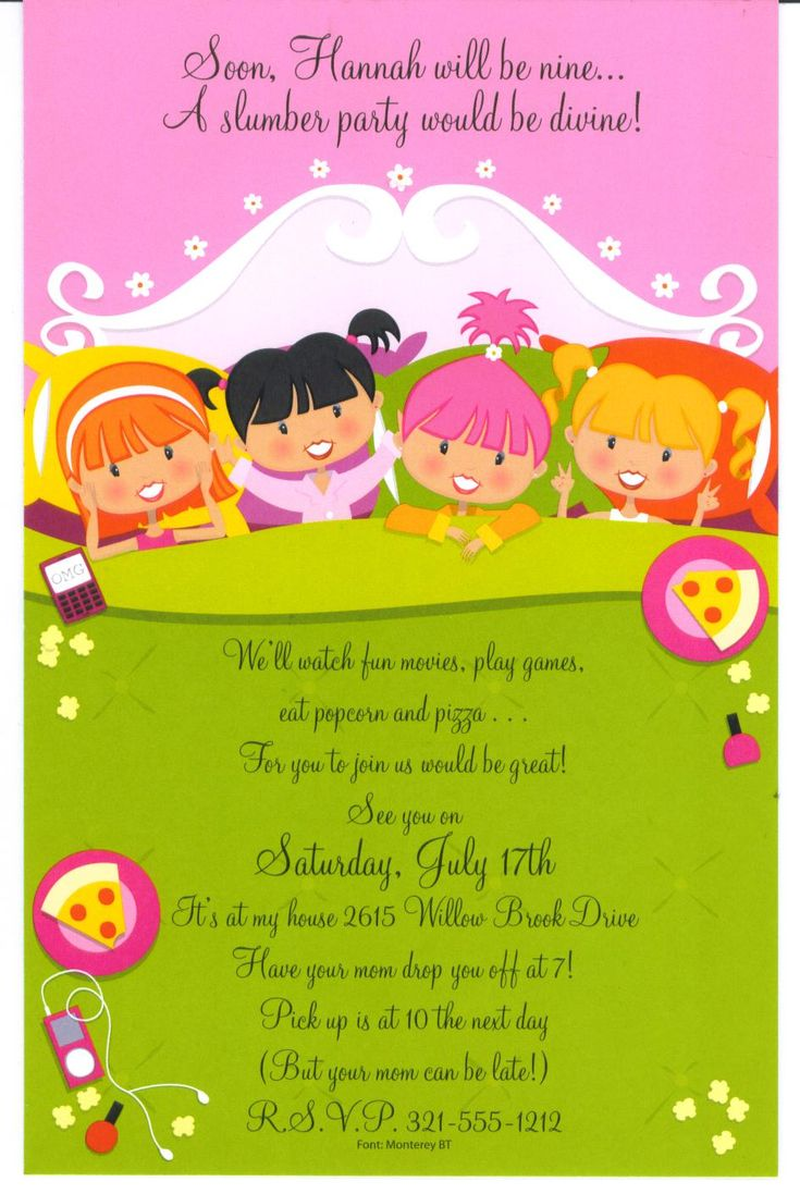 1000 images about sleepover invites on pinterest cupcake ideas
