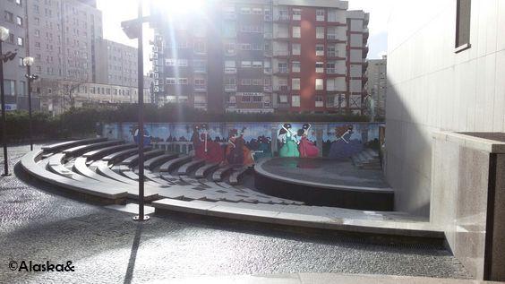 #Maia #theater #grafities