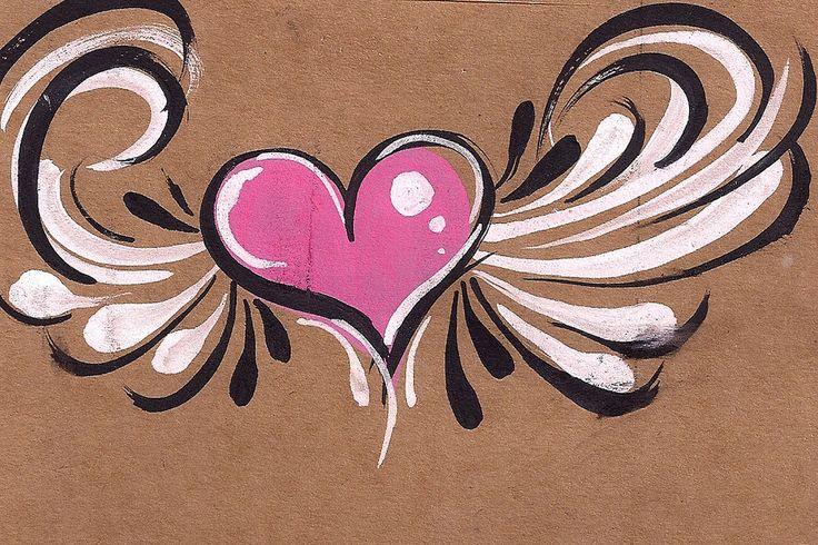 https://flic.kr/p/a3nDKW | winged heart | Cheek design
