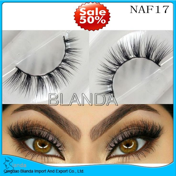 Cheap mink strip eyelashes
