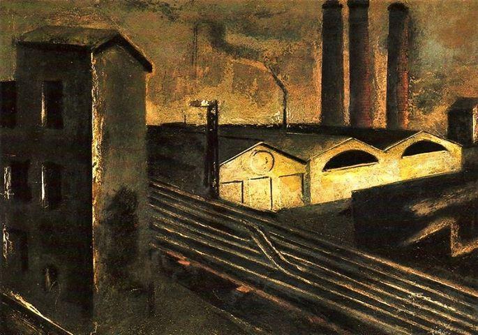Mario Sironi - Paesaggio Urbano, 1920