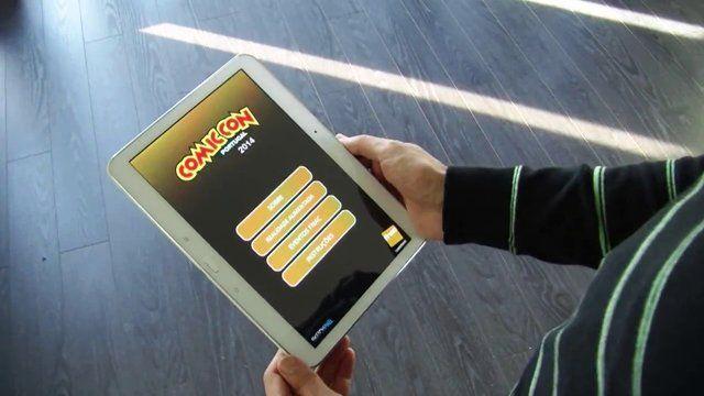Aplicação desenvolvida para a FNAC, no âmbito da feira ComicCon, com realidade aumentada.
