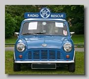Austin Mini ¼ton Van. On Introduction in 1961 Mini Vans had an 848cc engine, but the 998cc engine was an option from 1967.