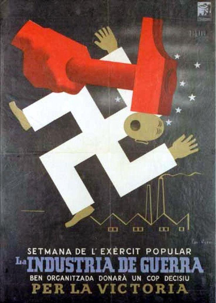 Republic propaganda poster | Spanish civil war 1936/39