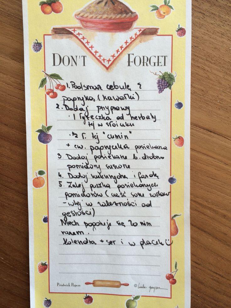Notatka od żony