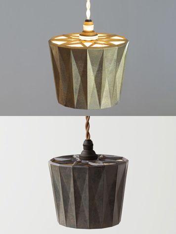 FUTAGAMI フタガミ:真鍮 ペンダントランプ 星影