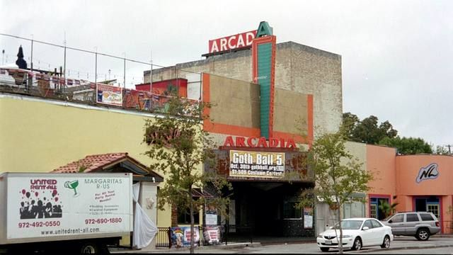 Arcadia Theater, Dallas, TX. ~(saw quite a few good shows there -- The Ramones, Lords of the New Church, P.i.L., Siouxsie & the Banshees, X, ...)~