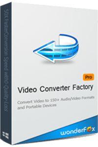 WonderFox Video Converter Factory Pro all-in-one, hızlı, güvenilir ve kolay kullanımlı bir video dönüştürme yazılımıdır. 100'den fazla video ve ses formatlarını destekler. WonderFox Video Converter Factory Pro rakiplerine oranla 50X daha hızlı dönüşüm sağlar. Benzersiz bir kodlama teknolojisine sahip yazılım toplu dönüştürme fonksiyonuna da destekler. Tek seferde 50 adet video dönüştürebiliyor buna ek olarak program taşınabilir cihazları destekliyor