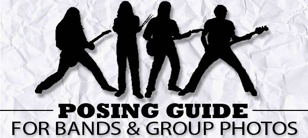 Music & Band Photographer Russ Robinson – Posing Guide for Bands & Group Photos