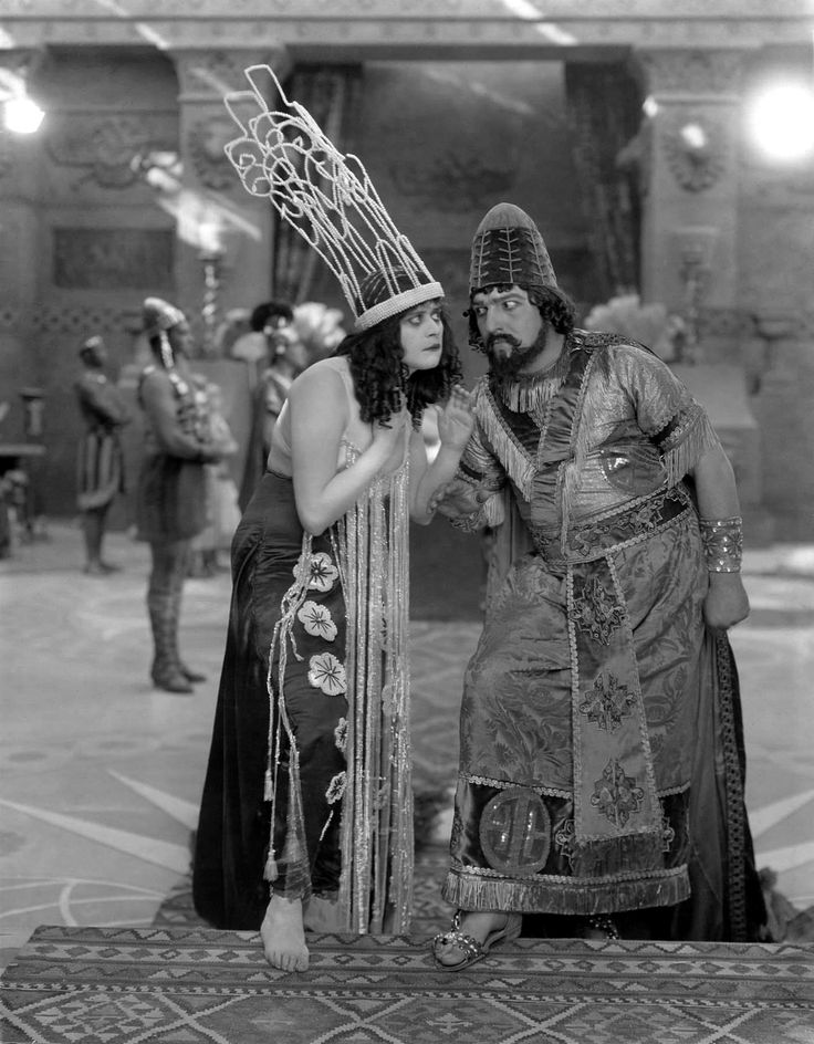 Theda Bara in Salome, 1918