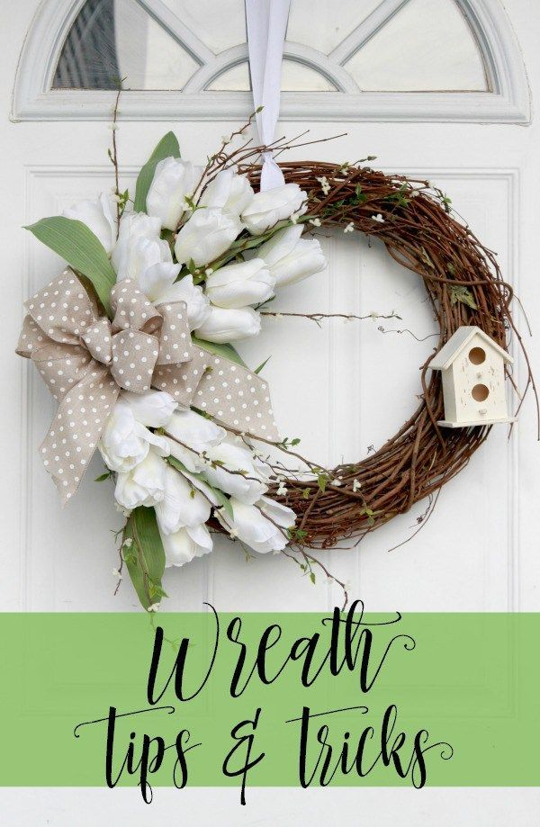 DIY Wreath Tips U0026 Tricks