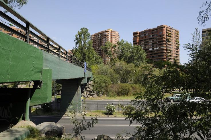 Puente Peatonal, Santiago. Chile