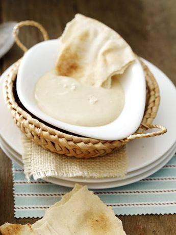 Schneller Tahina-Dip. Schmeckt toll zu Falafel oder zu Pitabrot