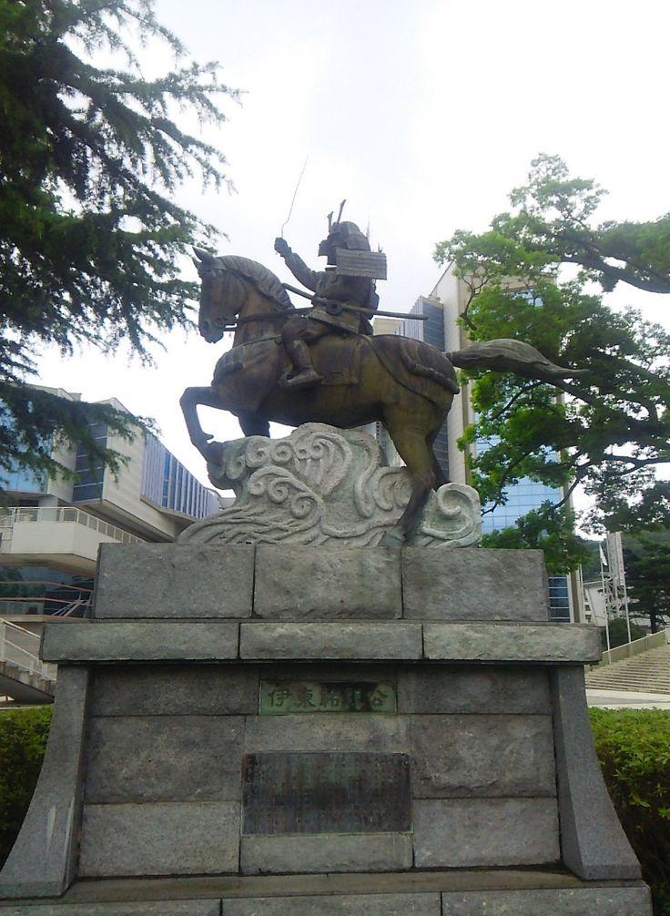 伊東祐親像-物見塚公園 2016.6