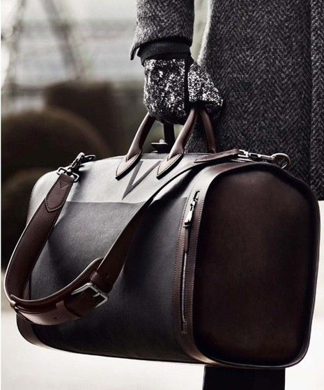Louis Vuitton Shako Sac Voyage- I'm not generally a fan of Louis Vuitton stuff, with the exception of some of their old steamer trunks, but this is a beautiful bag.