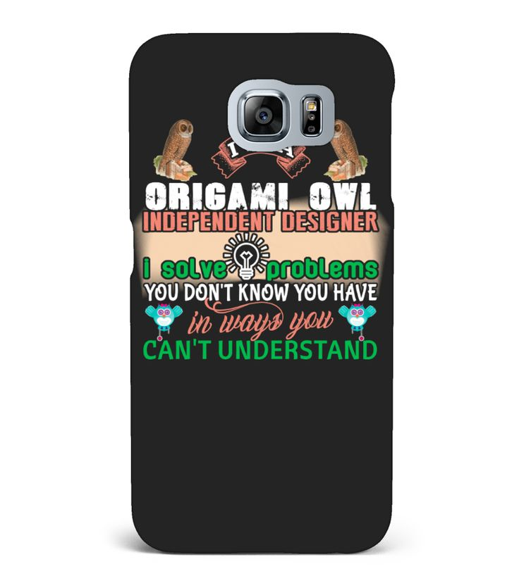 Owl Phone Cases-Im A Origami Owl