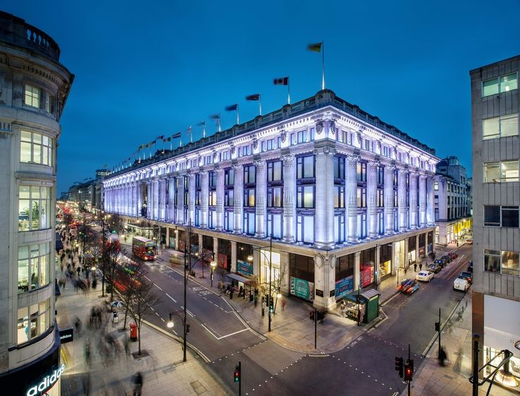 Shopping in London, Selfridges, Oxford street. 9 best destinations in London for shopping >>> http://bit.ly/1NSII2A