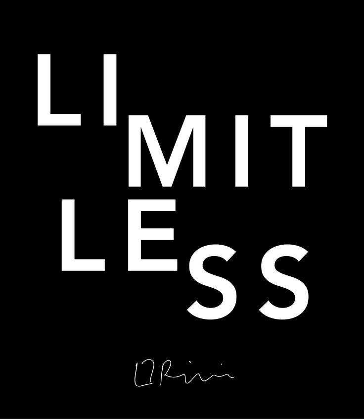 #quote #llrinaldidesigns #typography #black #graphicdesigner #limitless www.llrinaldidesigns.com.au
