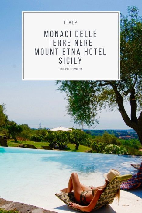 Monaci delle Terre Nere | A Boutique Mount Etna Hotel in Sicily, Italy. A stunning historic Etna hotel, Monaci delle Terre Nere sits on the slopes of Mount Etna in Sicily, Italy. We share our stay at the 4 star eco-hotel. ***** Etna Hotel | Mount Etna Hotel | Sicily Hotels | Where to Stay in Sicily | Sicily Yoga Retreats | Things to do in Sicily | What to do in Sicily | Mount Etna Hotels.