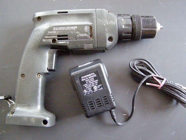 Convert A Battery Drill To Wall Power Battery Drill Cordless Drill Batteries Cordless Drill